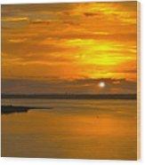Sunrise Summit Wood Print