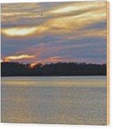 Sunrise-sunset 3 Wood Print