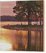 Sunrise-sunset 5 Wood Print