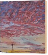 Sunrise / Sunset Wood Print