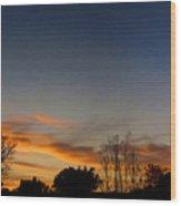 Sunrise Surprise Wood Print