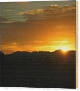 Sunrise Three 09 29 17 Wood Print
