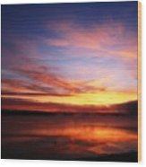 Sunrise Thunderbird Wood Print