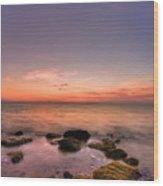 Sunrise Wisp Wood Print