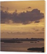 Sunset 0004 Wood Print