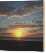 Sunset 0007 Wood Print