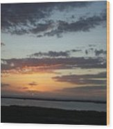 Sunset 0008 Wood Print