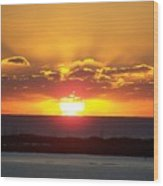 Sunset 0010 Wood Print