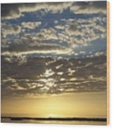 Sunset 0011 Wood Print