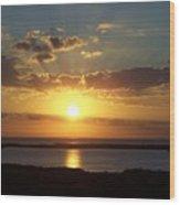 Sunset 0012 Wood Print