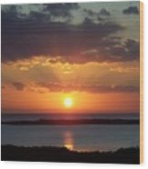 Sunset 0013 Wood Print