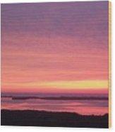 Sunset 0029 Wood Print