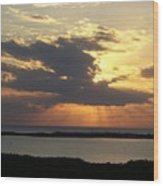 Sunset 0036 Wood Print