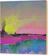 Sunset 09 Wood Print