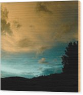 Sunset 1 Wood Print
