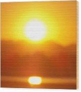 Sunset 1 Wood Print by Travis Wilson