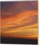 Sunset 10 Wood Print