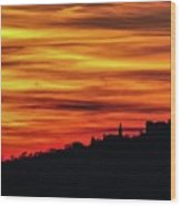 Sunset 11 Wood Print