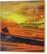 Sunset 15 Wood Print