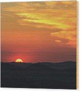 Sunset-2 Wood Print