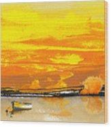 Sunset 24 Wood Print
