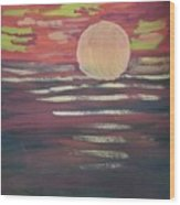 Sunset-3 Wood Print