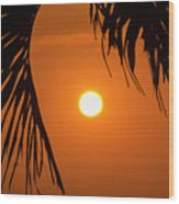 Sunset 35 Wood Print