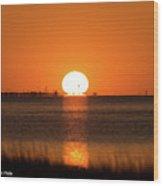 Sunset - 43 Wood Print