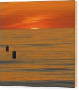 Sunset 6 Wood Print