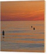 Sunset 7 Wood Print