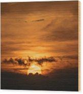 Sunset Ahuachapan 28 Wood Print