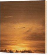 Sunset Ahuachapan 29 Wood Print