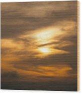 Sunset Ahuachapan 4 Wood Print