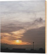 Sunset Ahuachapan 5 Wood Print