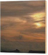 Sunset Ahuachapan 6 Wood Print