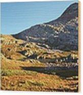 Sunset At Eldorado Lake - Weminuche Wilderness - Colorado Wood Print