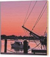 Sunset At Port Wood Print