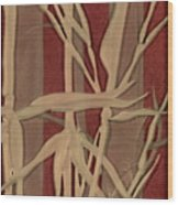 Sunset Bamboo Wood Print
