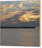 Sunset Bay 18 Wood Print