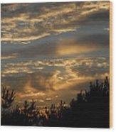 Sunset Bay 7 Wood Print