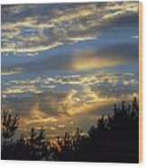 Sunset Bay 8 Wood Print