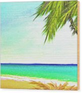 Sunset Beach #373 Wood Print