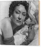 Sunset Boulevard, Gloria Swanson, 1950 Wood Print
