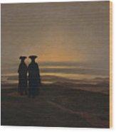 Sunset Brothers Wood Print