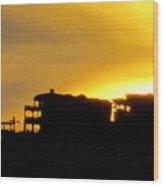 Sunset Cabo 3 Wood Print