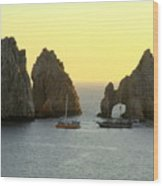 Sunset Cabo 4 Wood Print