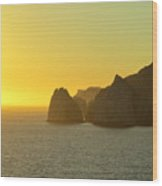 Sunset Cabo 6 Wood Print