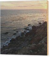Sunset Cliffs Wood Print