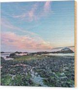 Sunset Colors In Oregon Wood Print