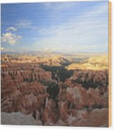 Sunset Colours Bryce Canyon 2 Wood Print